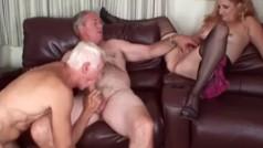 Trio Maturo Bisex – Video marito Bisex